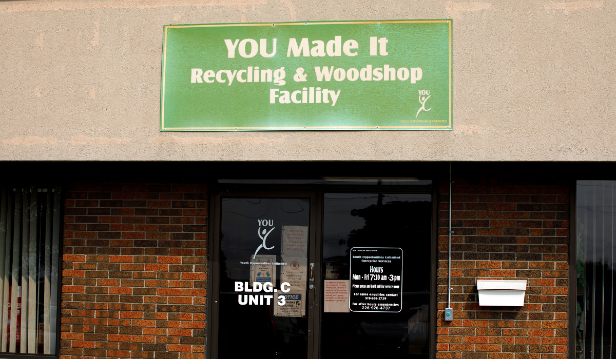 You Made It Recycling building